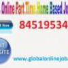 Internet job just with handsome income  …