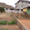 4 bedrooms uncompleted with 3 stores footing at Teshie for sale